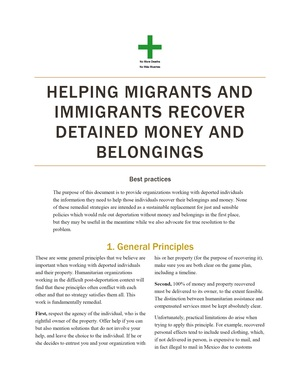 "Download the document ""Helping Migrants and Immigrants Recover Detained Money and Belongings"""